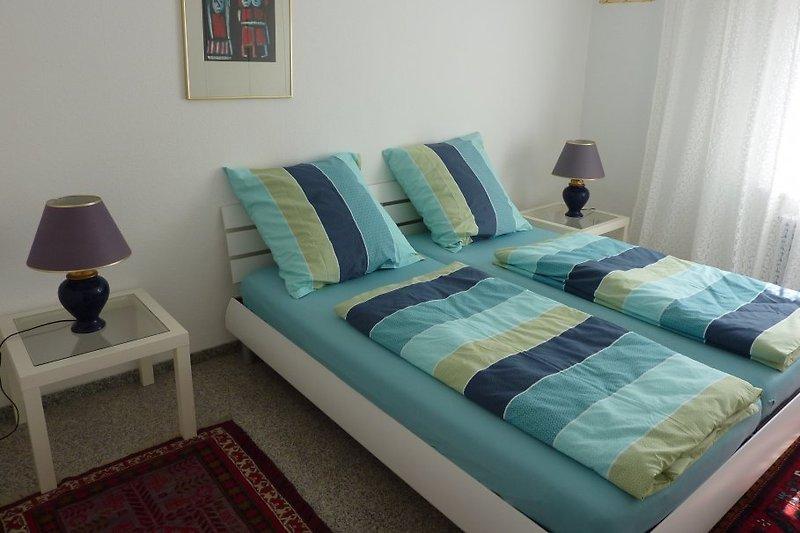 Das erste Doppel-Schlafzimmer