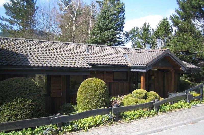 Woodland Lodge im Sommer