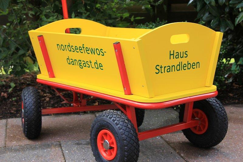 Unser beliebter Bollerwagen
