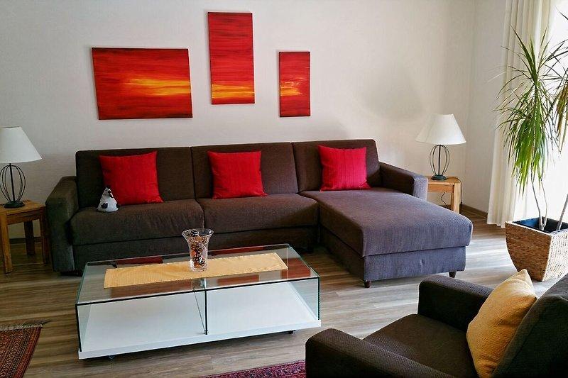 Großzügiger Wohnbereich mit 37 m² Wohnfläche