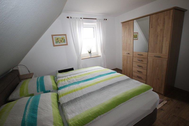 Das freundliche Schlafzimmer