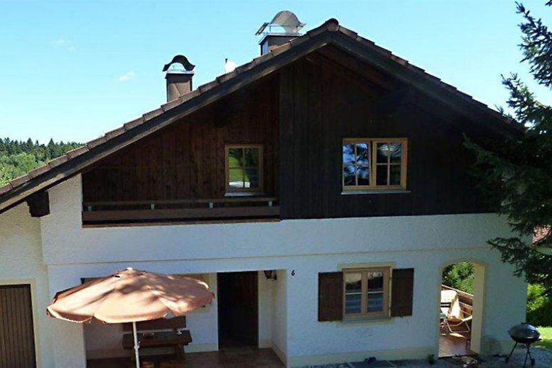 Haus Ludi, Blick von Hofseite