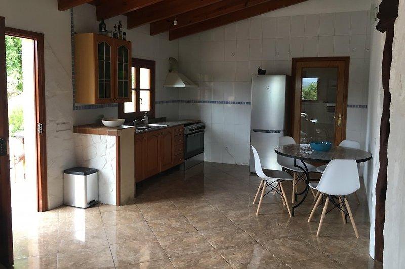 Wohn und Küchenbereich