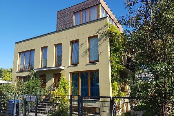 Apartments befinden sich in der rechten Doppelhausseite