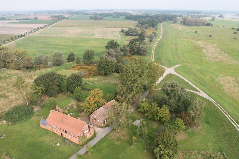Der Flusshof im UNESCO Biosphärenreservat Elbe