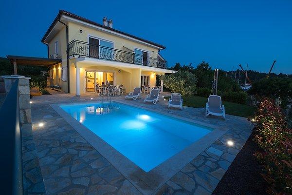 strand villa claudia mit pool ferienhaus in klimno mieten. Black Bedroom Furniture Sets. Home Design Ideas