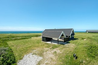 Nice holiday house at the sea. Panoramic view over the westcoast. Here is place to relaxing, having fun with the family. Close to Lønstrup a litte town with nice restaurants.