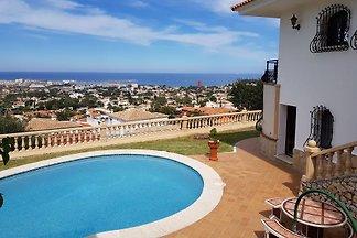 Villa in Denia at the Montgo Magraner