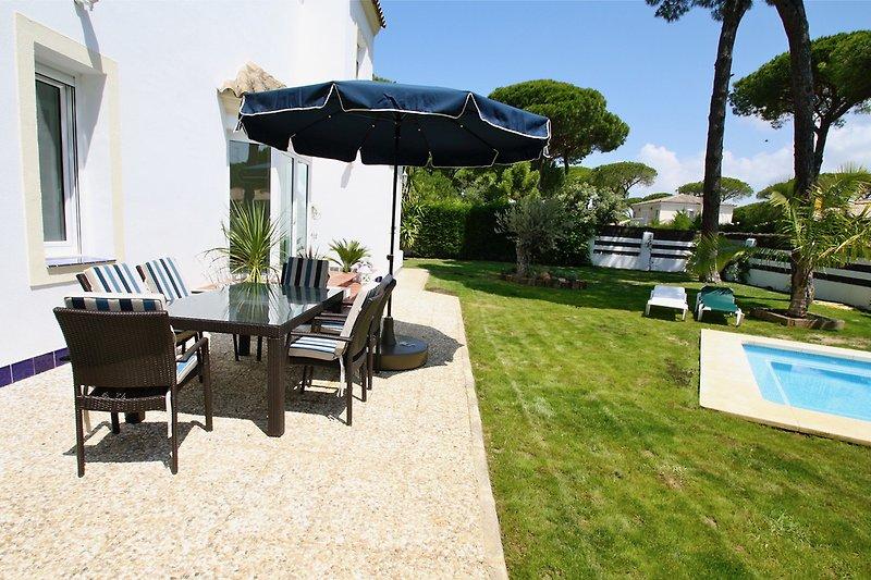 Terrasse, Garten, Pool
