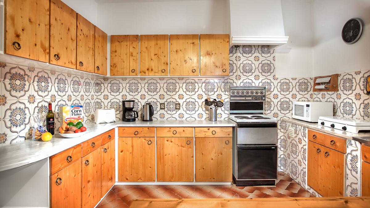 Casa Amarela PechaoOlhao Ferienhaus In Olhão Mieten - Portugiesische fliesen küche