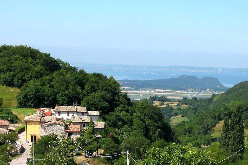 Braghizzola mit Gardasee