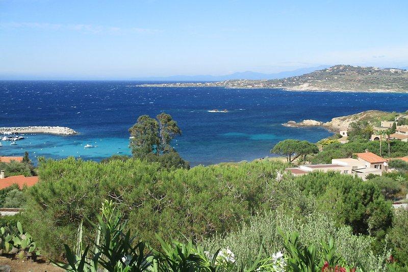 Herrlicher Ausblick Bucht von Algajola