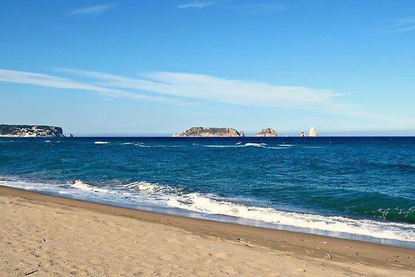 Unser weitläufige Strand