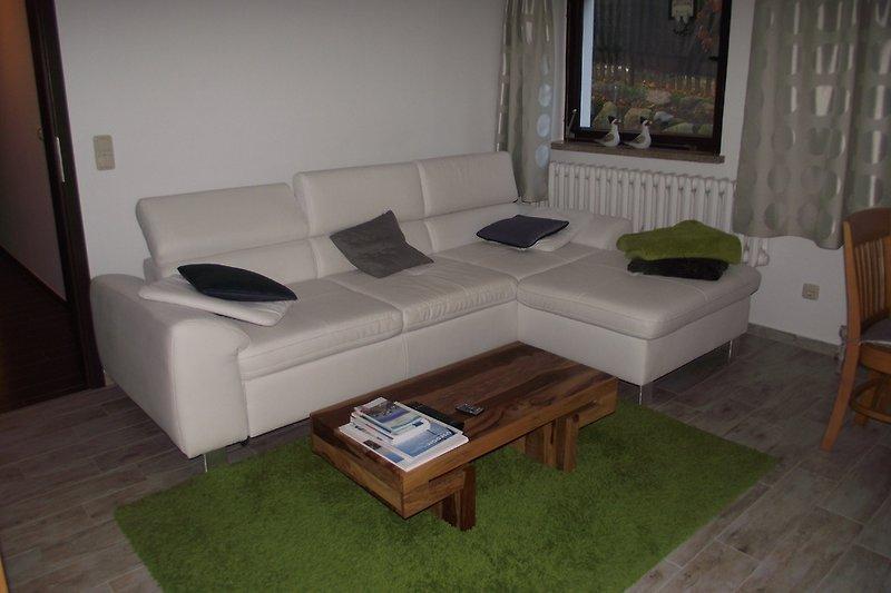 Sitzecke in der Wohnstube