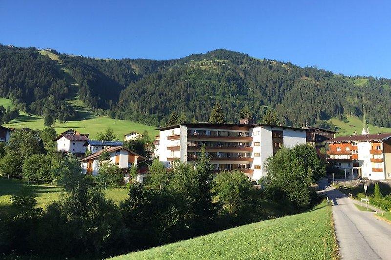 The Sonnenalp building