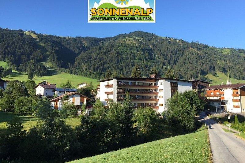 Het gebouw Sonnenalp.