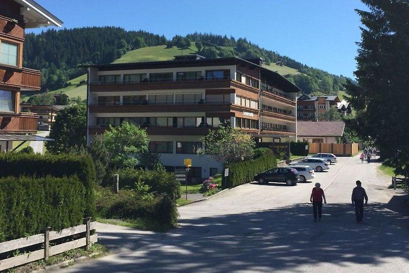 Das Gebäude Sonnenalp