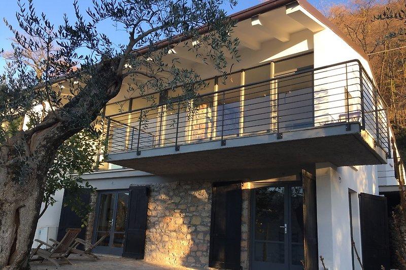 Ansicht Villa Süd/West