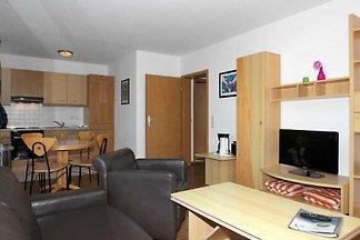 A 06: 55 m², 2-Raum, 4 Pers., Balkon, H