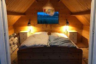 Finnhütte und Sauna - rustikale Ferien auf de...