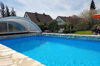 Galerie- Fewo mit Pool am Brombachsee - überd...