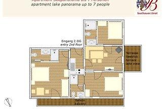 Appartement Seepanorama 7 Personen