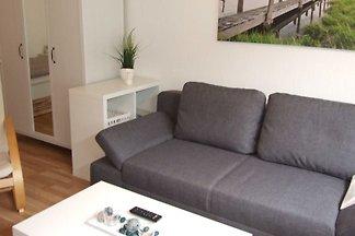 Das charmante 1-Zimmer Appartement Natur purbefindet sich in ruhiger Lage in Rüllschau - 6 km entfernt von Glücksburg.