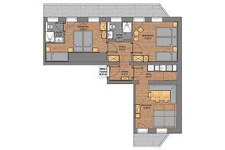 Apartment Tuxertal im Rosenhof - 2 Schlafzimm...