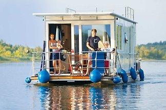 führerscheinfreies Hausboot-- Febomobil 990