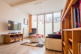 Die Appartement-Wohnungen befinden sich in exklusiver und ruhiger Lage. Einige verfügen über einen direkten Blick auf die Ostsee und fünf Minuten Fussweg zur Strandpromenade.