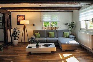 4-Raum Ferienhaus In den Auen, Badewanne/Dusc...