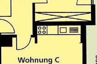 Ferienwohnung C 55qm, 1 Schlafraum, 1 Wohn-/S...