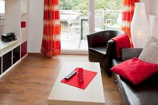 Es erwartet Sie ein modernes Architektenhaus mit vier Ferienwohnungen, aufgeteilt in zwei Wohnungen im Erdgeschoss und zwei Wohnungen im Obergeschoss und bietet Platz für 2 oder 4...