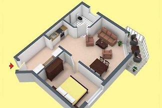 Zwei-Raum-FeWo PA 611