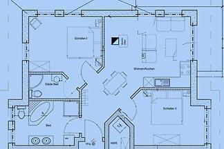 Fewo Mönchgut mit Balkon 72 m²