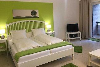 1-Raum-Appartement mit Gartenblick (u.a. App.