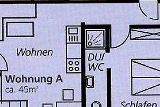 Ferienwohnung A 42qm, 1 Schlafraum, 1 Wohn-/S...