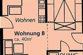Ferienwohnung B 38qm, 1 Schlafraum, 1 Wohn-/S...