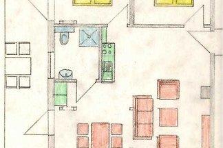 Drei - Raum - Ferienwohnung Lockwerder