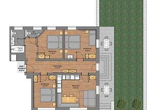 Apartment Zemmgrund im Rosenhof - 3 Schlafzim...