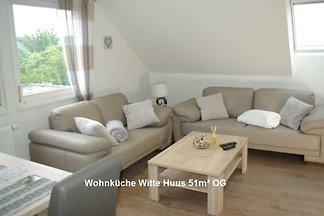 Fewo Witte Huus 51 m² im Dachgeschoss