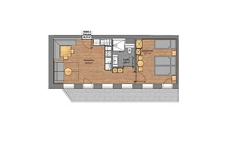 Apartment Stilluptal im Rosenhof - 2 Schlafzi...