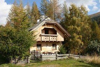 Öko-Holzblockhaus