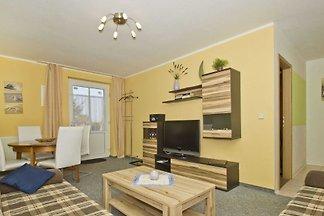 08: 43 m², 2-Raum, 4 Pers., Terrasse, WL