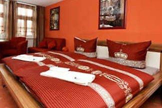 Boarding house romantic holiday Erfurt