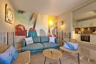 Malibu, 3Zi., 65m², Terrasse, Sauna