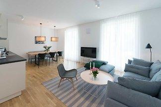Ferienwohnung 11 Strandhaus Seeblick Binz 50m...