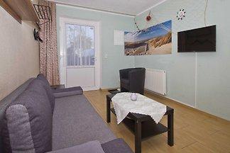 05: 45 m², 2-Raum, 4 Pers., Terrasse, WL