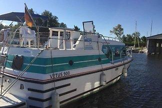 führerscheinfreies Hausboot-- vetus 915