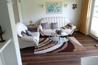 2-Raum FeWo, 59 m², Terrasse